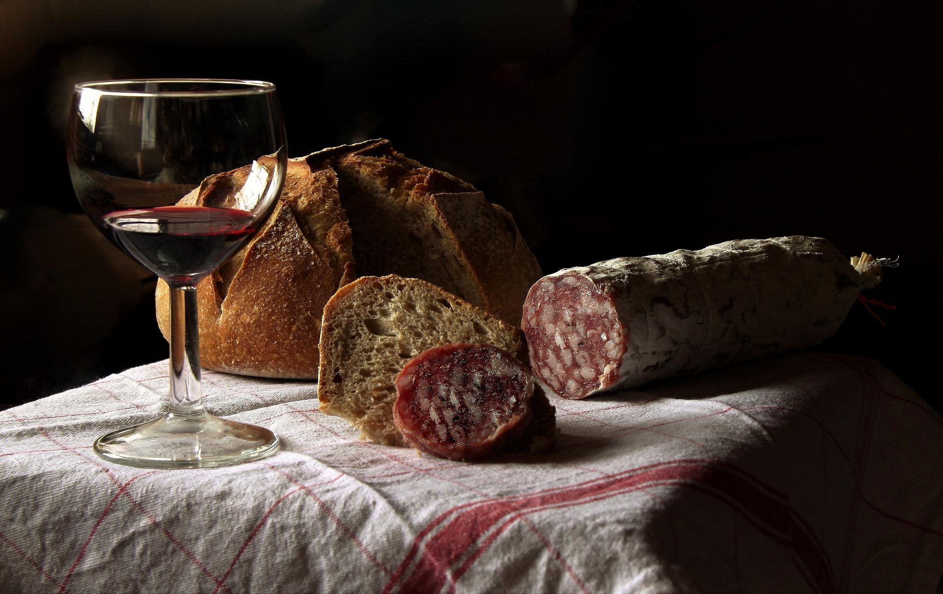 bicchiere vino rosso